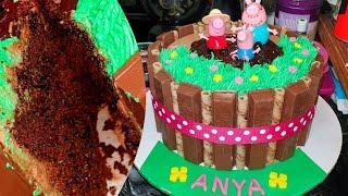 How to Make the Best Homemade Peppa Pig cake  Trinidad &amp Tobago