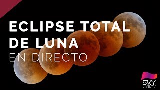 Eclipse Total de SuperLuna - En directo