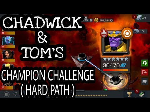 Chadwick & Tom's Champion Challenge - ( Marvel Contest Of Champions ) ( 2018 )