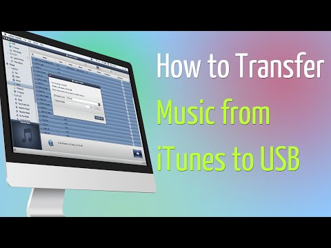 How to Transfer Music from iTunes to USB