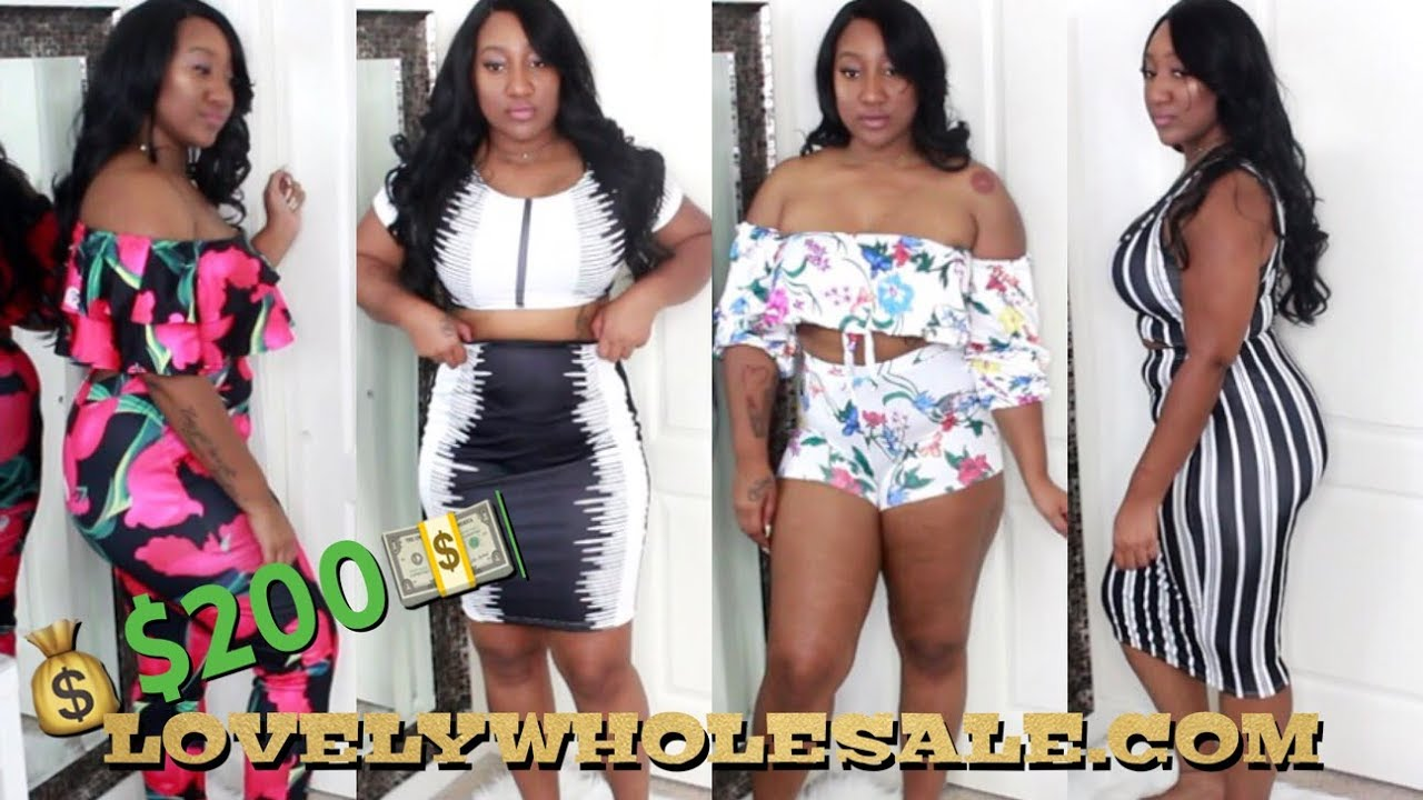 4a08b1dcc22 I SPENT  200 0N LOVELYWHOLESALE! WHAT ! PLUS SIZE TRY ON HAUL ...