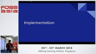 Platform for Deep Learning in Healthcare - Manas Ranjan Kar - FOSSASIA 2018