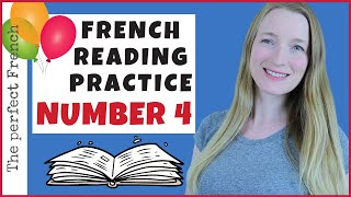 French reading practice 4 | How to read in French | Mon anniversaire 🎂