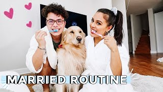 Our Married Night Time Routine♡ Natalie & Dennis & Jupiter 🐶