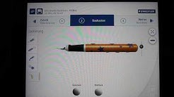 A look a Staedtler's 3Dsigner Icon-Line (3d printed pen)
