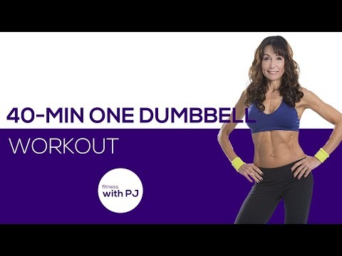 40-Min 1 Dumbbell Workout (All Levels)