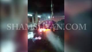 ԲԱՑԱՌԻԿ ՏԵՍԱՆՅՈՒԹ  «Զվարթնոց» օդանավակայանի տարածքում հրդեհ է բռնկվել կայանված ավտոմեքենայում