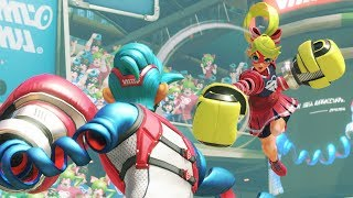 Spring Man Grand Prix!! ARMS Full Game Nintendo Switch 60fps