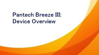 Pantech Breeze III: Device Overview