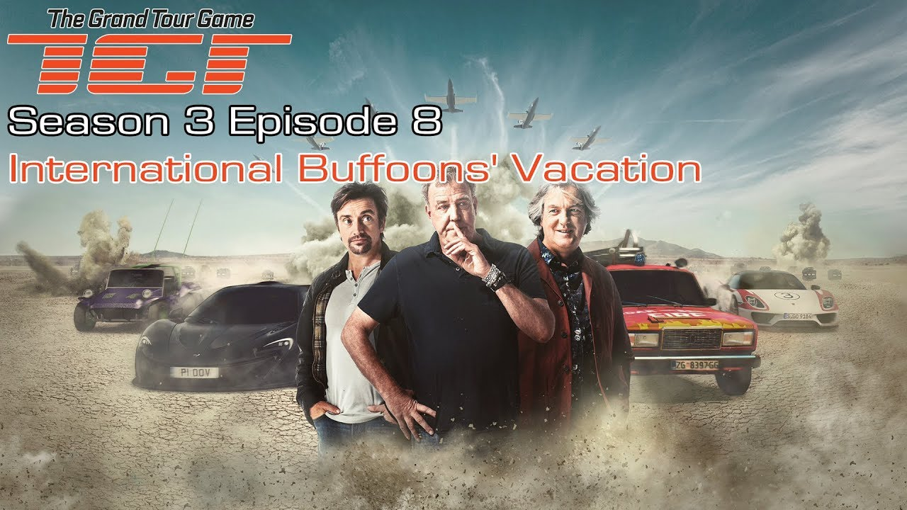 THE GRAND TOUR GAME - SEASON 3 EPISODE 7 (All Golds) WELL ...
