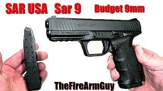 SAR USA Sar 9 - A Closer Look at this Budget 9mm - TheFireArmGuy