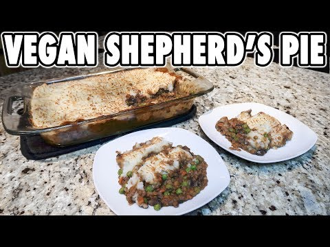 Hearty Vegan Shepherd's Pie Recipe | Oil Free, Plant Based, Low Fat