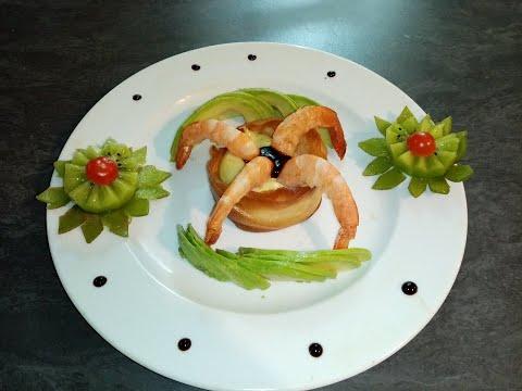 recette-spéciale-fête-:-l'avocat-crevette-et-kiwi,-simple,-rapide,-délicieuse