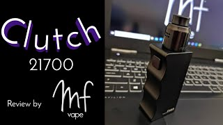 Clutch 21700 Mech Mod | Dovpo/Signature Tips/Mike Vapes | Full Review | Solid!
