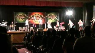 Xtreme Rhythmix perform at Stage of Origin 2011 video 1