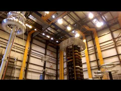 Powertech bc hydro high voltage electrical testing lab cool gear sci fi