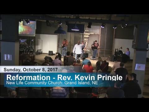 Reformation - Guest Speaker Rev. Kevin Pringle 10-8-17