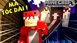Rex Thử Thách Giải Thoát Noob Khỏi Con Ma Tóc Dài Trong Minecraft !!