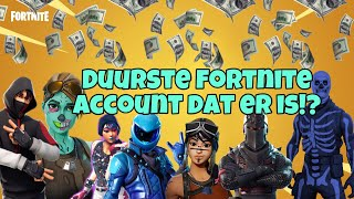 I have MOST EXPENSIVE fortnite account from ALL OVER EUROPE/OG SKULL!?