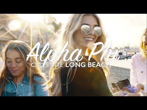 Alpha Phi Cal State Long Beach Recruitment 2017