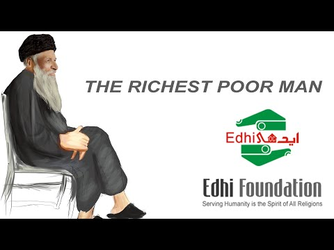 Abdul Sattar Edhi- A tribute to Legend | Angel of Mercy |  The Richest Poor Man | Digital Painting