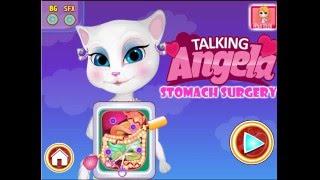 Анжела попала в больницу. Срочная операция у подруги КОТА ТОМА. Мультик для детей