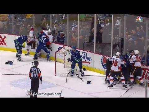 Flames vs Canucks Apr 17, 2015