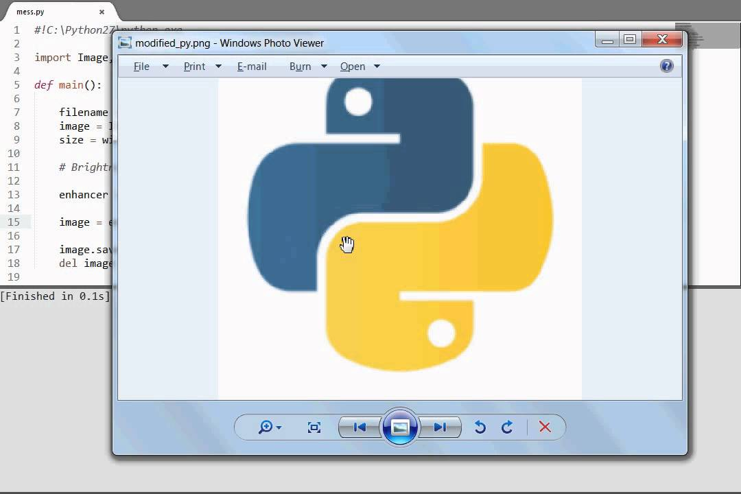 Python [PIL ImageEnhance] Enhance Color, Sharpness, Brightness & Contrast