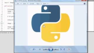 Python [PIL ImageEnhance] Enhance Color, Sharpness, Brightness & Contrast
