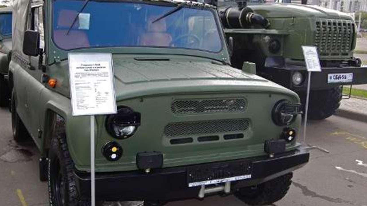 Tuning UAZ-469