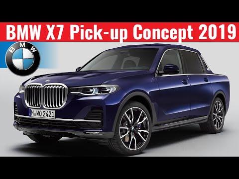 2019 Bmw X7 Pick Up Concept بي ام دبليو بيك اب نموذج تخيلي Youtube