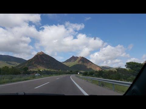 From Valencia to Barcelona via car
