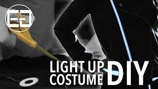 DIY GRID HALLOWEEN COSTUME How To ELLUMIGLOW com