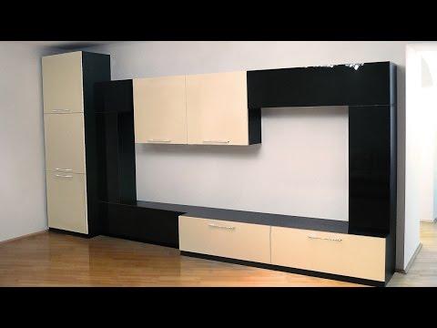 Wall-Units (ТВ стенка) для гостиной в современном стиле