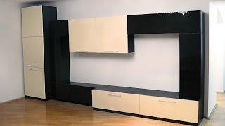 Wall-Units (ТВ стенка) для гостиной в современном стиле(Мебель для ТВ-зоны в зал. Корпуса