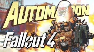 РОБОТ-ГОМУНКУЛ - Fallout 4 Automatron ОБНОВА