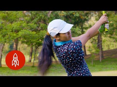 The Teen Golfer Swinging for Nepal