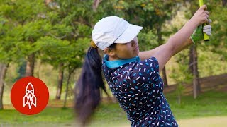 The Teen Golf Sensation Swinging for Nepal