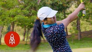 The Teen Golf Sensation Swinging for Nepal
