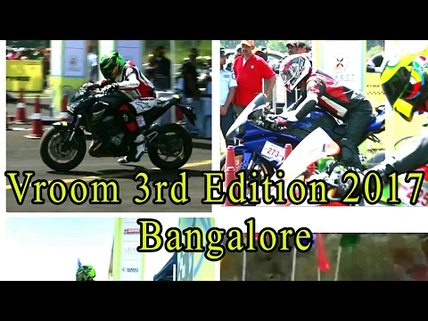 2017 Vroom 3rd edition drag race event Bangalore(Practice Round)