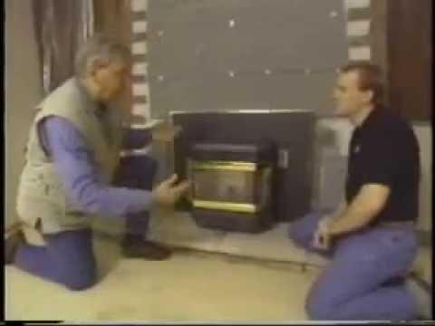 Pellet Stove Install