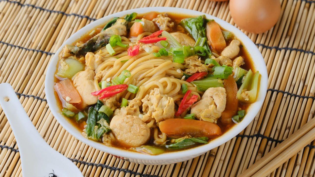 Resepi Chicken Braised Noodle Soup