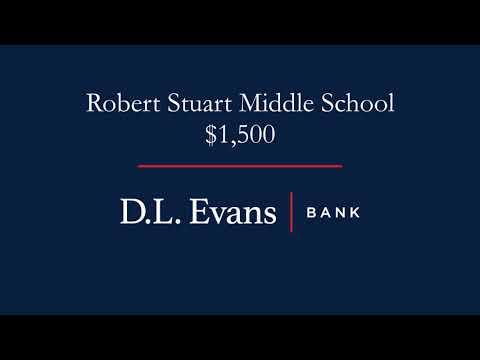 Robert Stuart Middle School Donation