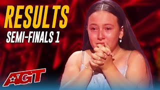 THE RESULTS: First Five Acts Through To The America's Got Talent Finals! Did America Get It Right?