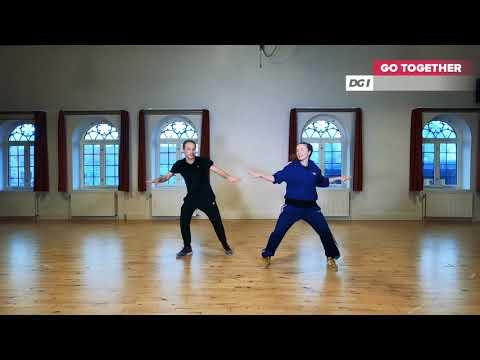 DGI Gymnastik - Dans  med Peter Friis - Chanson des jumelles
