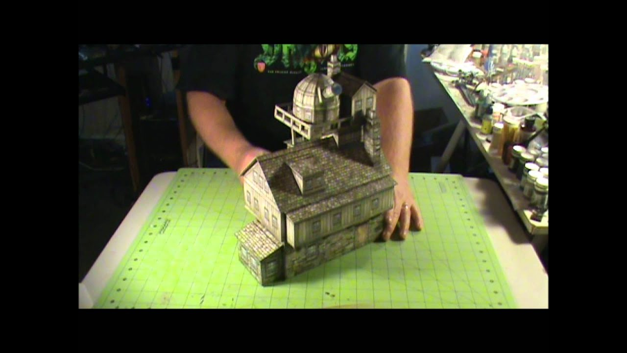 Product Review Dave Graffam Models Inventors House & Observatory