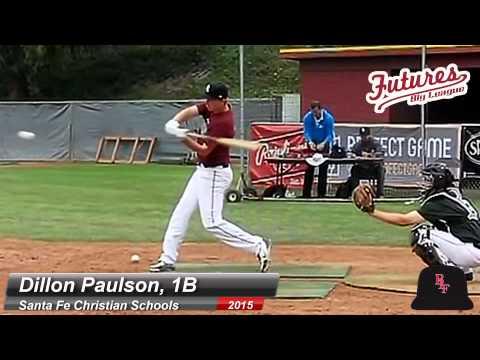 DILLON PAULSON, 1B, SANTA FE CHRISTIAN SCHOOLS, SWING MECHANICS AT 200 FPS