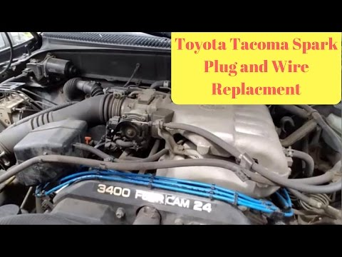 1995-2004 Toyota Tacoma Spark Plug and Wire Replacement ... on