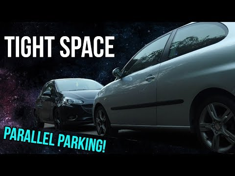 How to Parallel Park in a Tight Spot! - Driving Tips and Tricks
