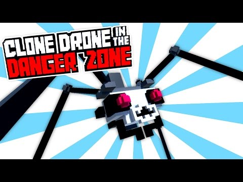 Dominating Twitch Mode! Titanium Level 15! - Clone Drone in the Danger Zone Gameplay
